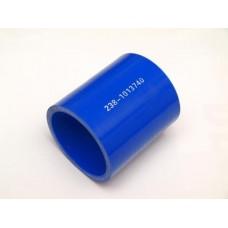 Патрубок МАЗ силикон L 70 мм, D 55 мм