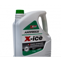 Антифриз-A40M G11 зеленый (канистра 5 кг)