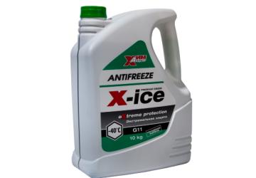 Антифриз-A40M G11 зеленый (канистра 10 кг)