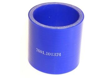Патрубок МАЗ силикон L 60 мм, D 55 мм