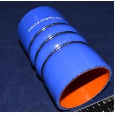 Патрубок МАЗ ЯМЗ-650 силикон L 150 мм, D 80 мм