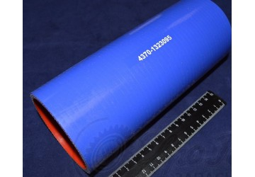 Патрубок МАЗ силикон L 200 мм, D 75 мм